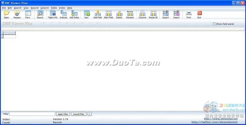 DBF Viewer Plus (dbf阅读器)下载