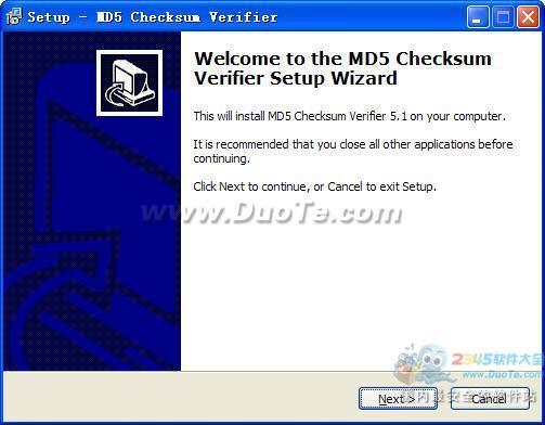 MD5 Checksum Verifier (MD5值验证器)下载