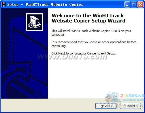 WinHTTrack Website Copier(离线浏览器工具)下载