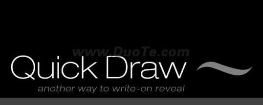 AE快速手绘脚本(Quick Draw)下载