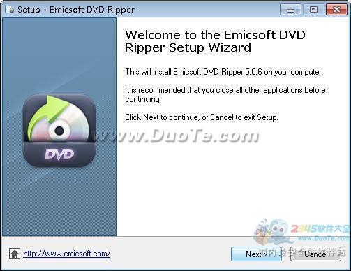 Emicsoft DVD Ripper下载