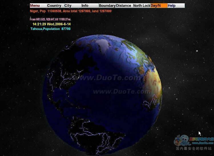 3D World Map(三维世界地图)下载