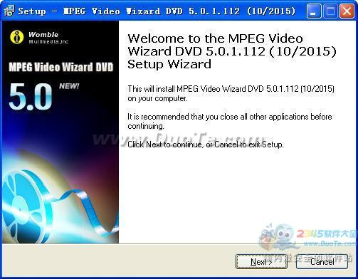 Womble MPEG Video Wizard DVD下载