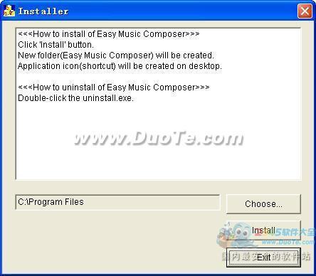 Easy Music Composer free(音乐作曲软件)下载