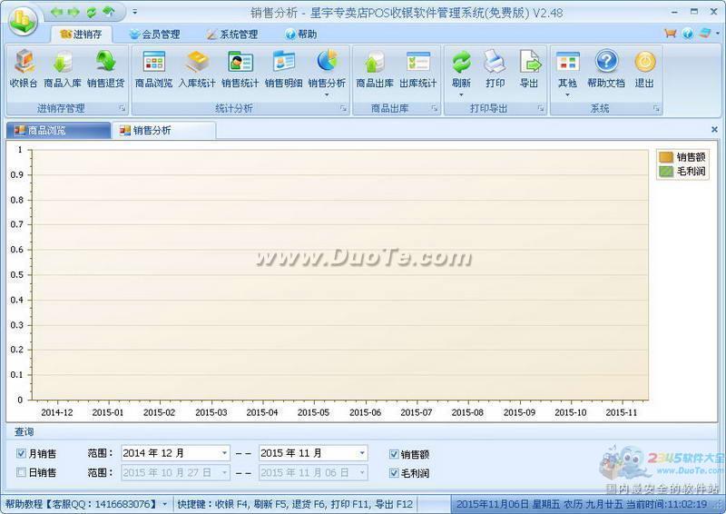 星宇专卖店POS收银软件管理系统下载