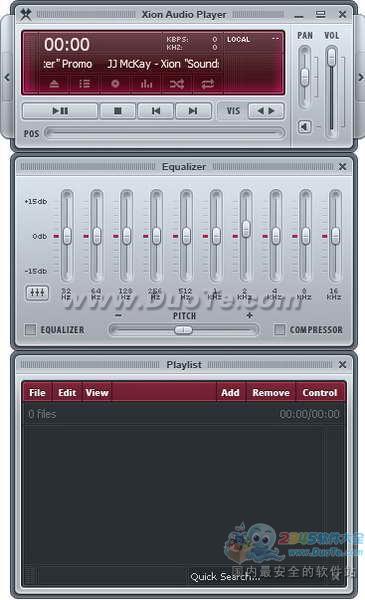 Xion Audio Player(可制作SKIN播放器)下载