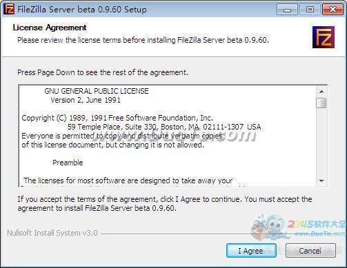 FileZilla Server(服务器管理)下载