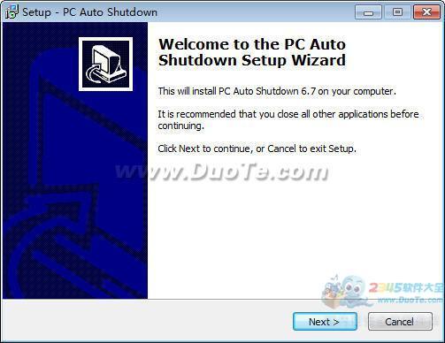 PC Auto Shutdown (系统辅助软件)下载