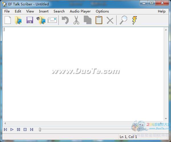 EF Talk Scriber(文件编辑)下载