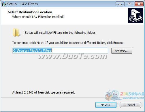 LAV Filters(音视频解码器)下载