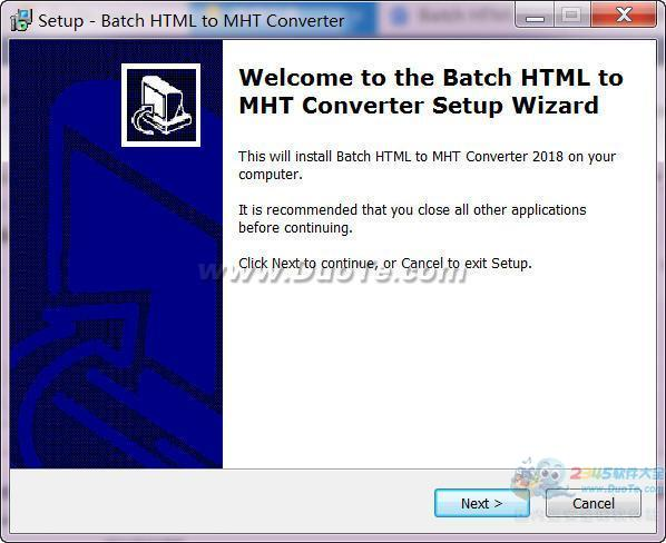 Batch HTML to MHT Converter(HTML转MHT转换器)下载