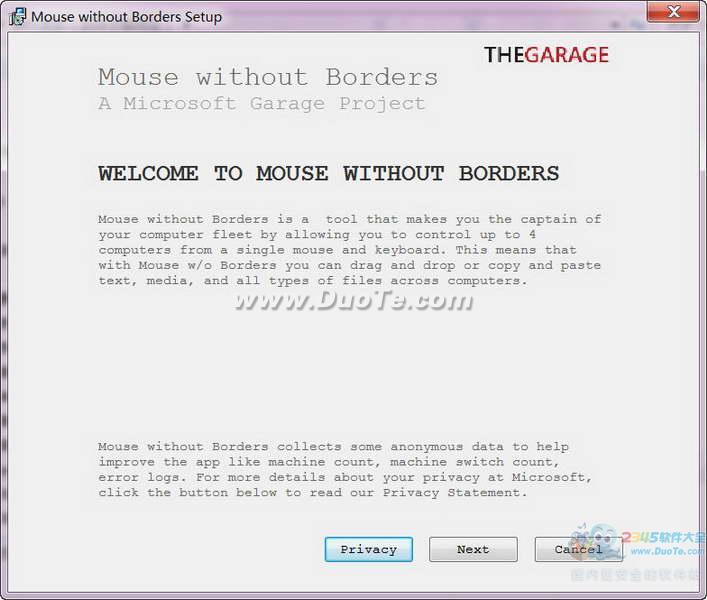 Mouse without Borders (鼠标键盘共享)下载