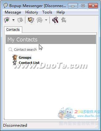 Bopup Messenger(局域网即时消息软件)下载