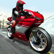 极速摩托冬季高速公路拉力赛