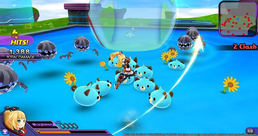 超次元海王星U:战斗�