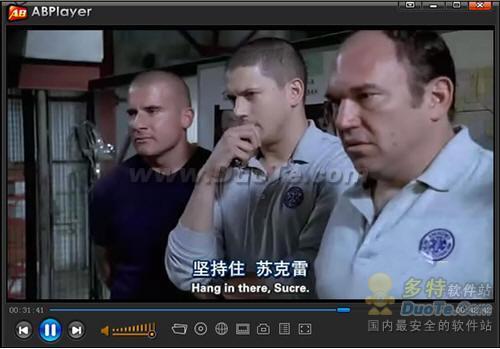 ABplayer一键享受DVD双字幕
