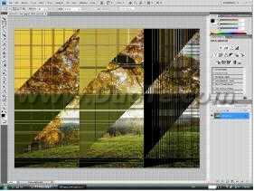 Photoshop CS4打开图片出现错位问题
