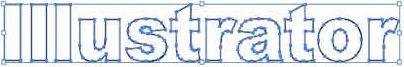 Illustrator 8.0基础入门教程之金属文字制作