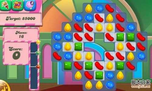 《糖果粉碎传奇Candy Crush Saga》16,17,18,19,20关过关攻略