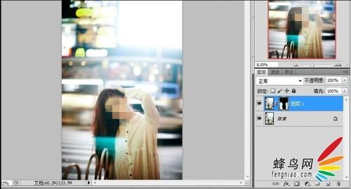 用Photoshop后期做出流动慢门的夜景照片效果