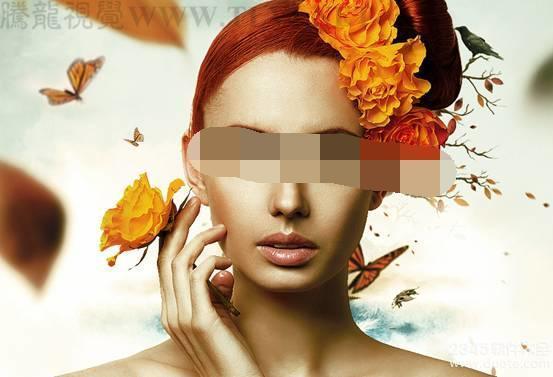 Photoshop制作人物皮肤的古铜色