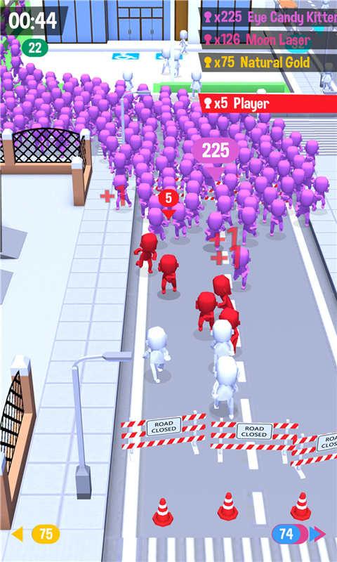 火柴人大战-拥挤城市软件截图3