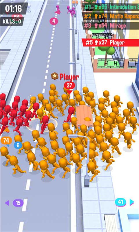 火柴人大战-拥挤城市软件截图4