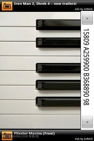 迷你钢琴软件截图0