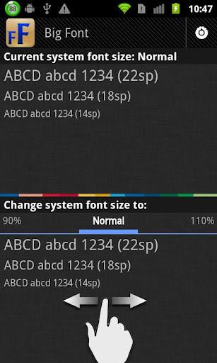 改变系统字体大小软件截图0
