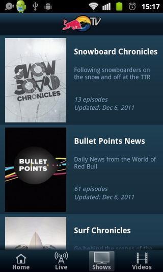 Red Bull TV软件截图0