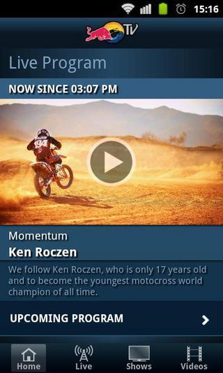 Red Bull TV软件截图3