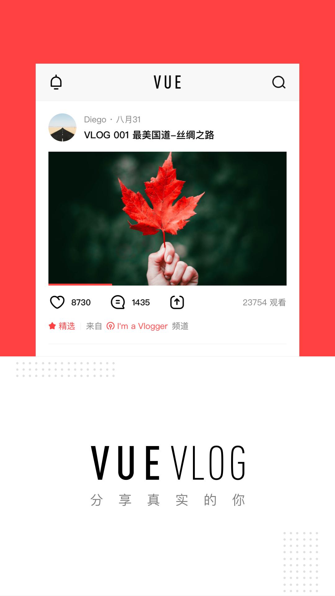 VUE Vlog软件截图0