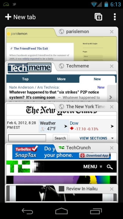 Chrome浏览器软件截图2