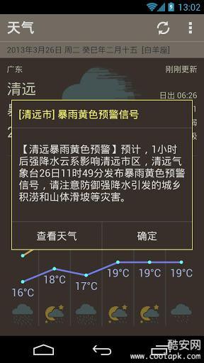 素朴天气软件截图3