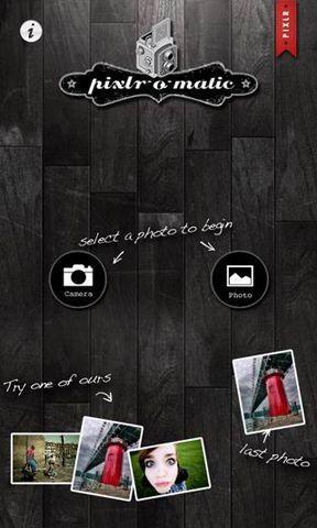 Pixlr-o-matic照片处理软件截图1