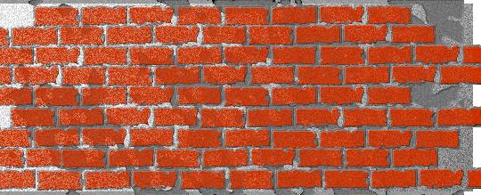 Fireworks制作红墙砖头效果