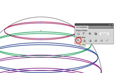 AI轻松实现多彩透视Logo设计