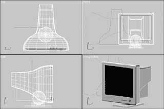 利用Fit放样法制作显示器