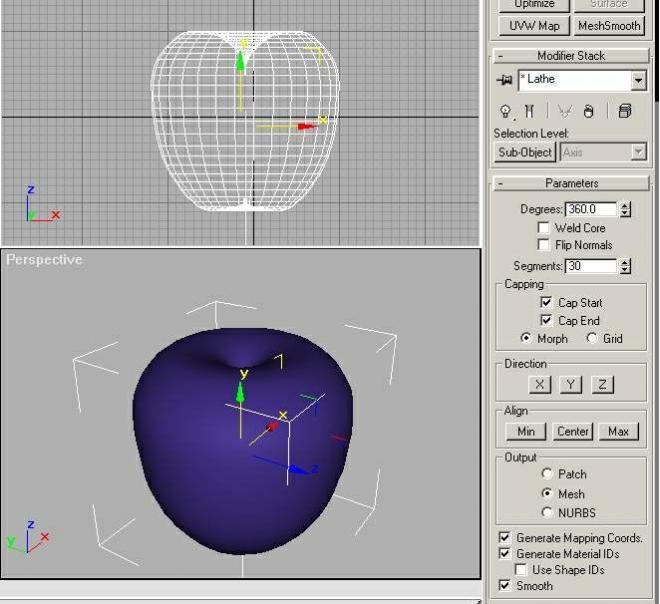 用3Dmax制作超现实主义苹果