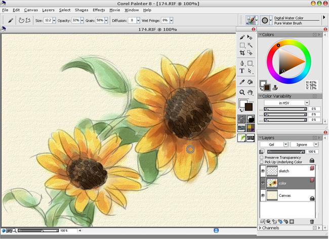 Painter教程之数码水彩篇