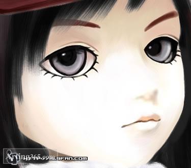 用Painter绘制可爱的SD娃娃
