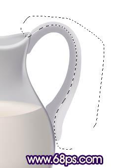 Photoshop鼠绘一个逼真的水瓶