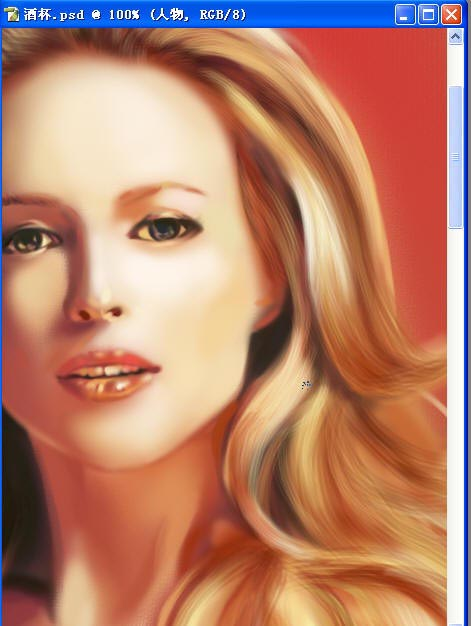 Photoshop鼠绘教程之鼠绘漂亮性感美女
