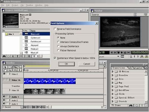 Premiere使用技巧之视频剪辑