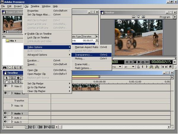 Premiere使用技巧之复合叠加效果