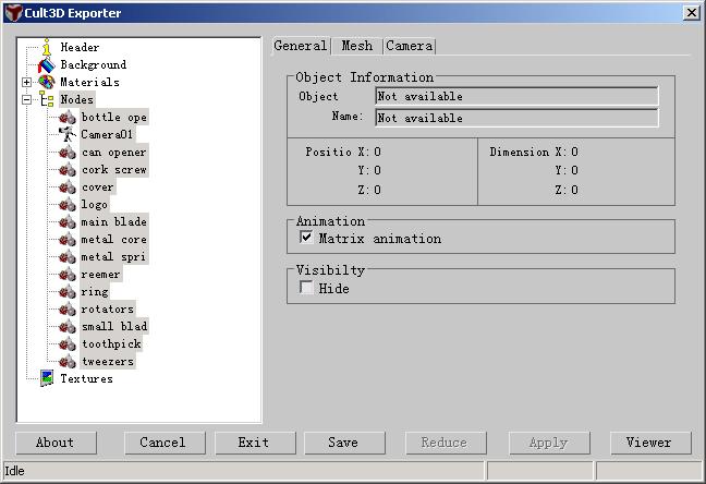 Cult3D 高级教程之3DMax预设动画创作