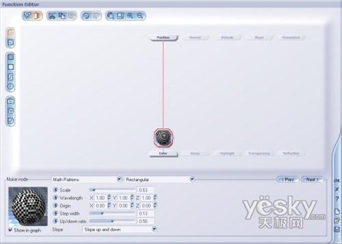 Vue 5 Esprit 高级教程之函数噪声节点数学样式