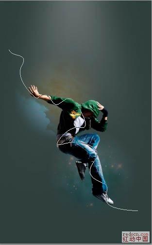 PS照片特效基础教程之打造绚丽的潮流舞者