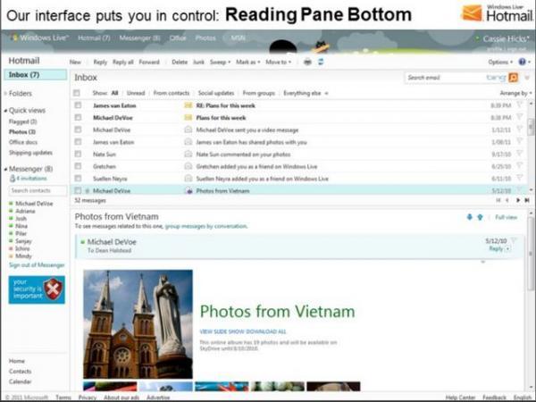 Hotmail邮箱让你的邮件迁移更轻松