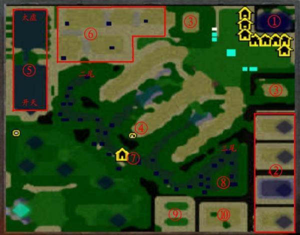 《火影忍者羁绊》 1.3 地图详解以及隐藏英雄密码